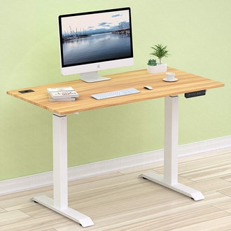 SHW Electric Height Adjustable Desk