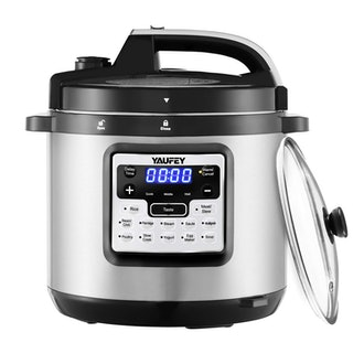 Yaufey 12-in-1 Programmable Pressure Cooker