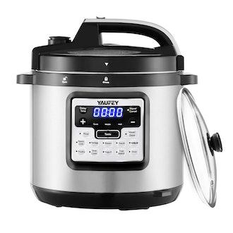 Yaufey 12-in-1 Programmable Pressure Cooker