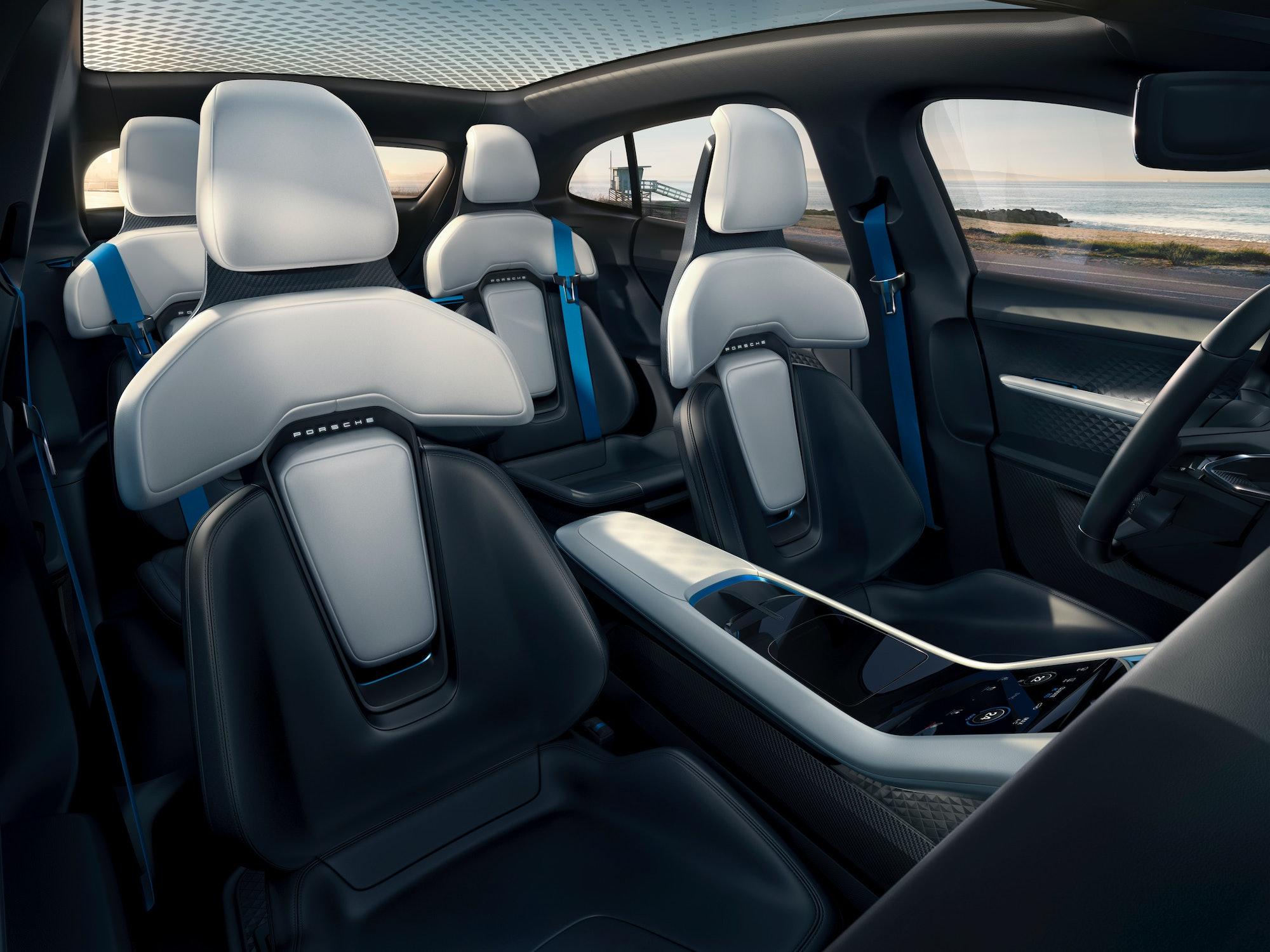 Porsche interior.