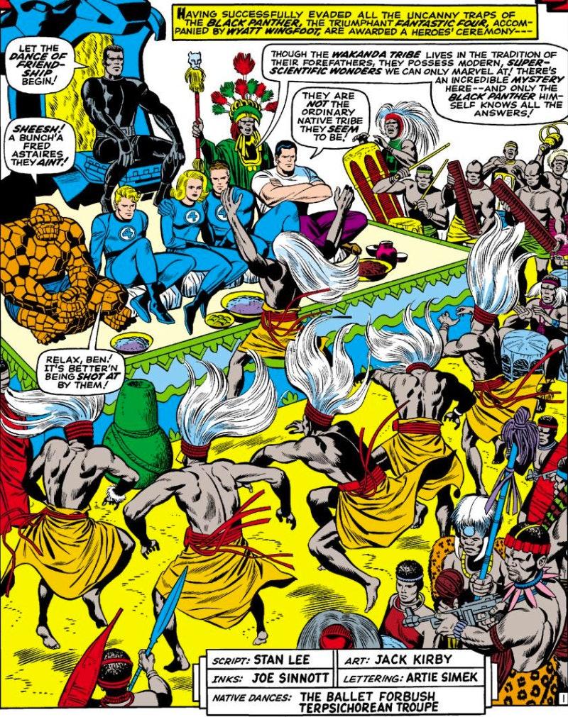 Black Panther Fantastic Four Marvel