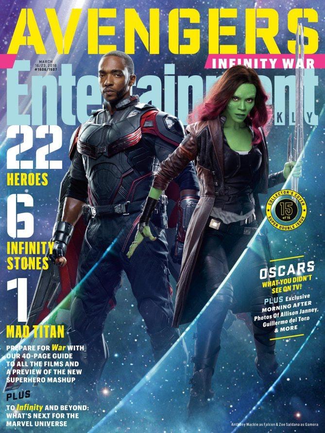 Avengers Infinity War Falcon