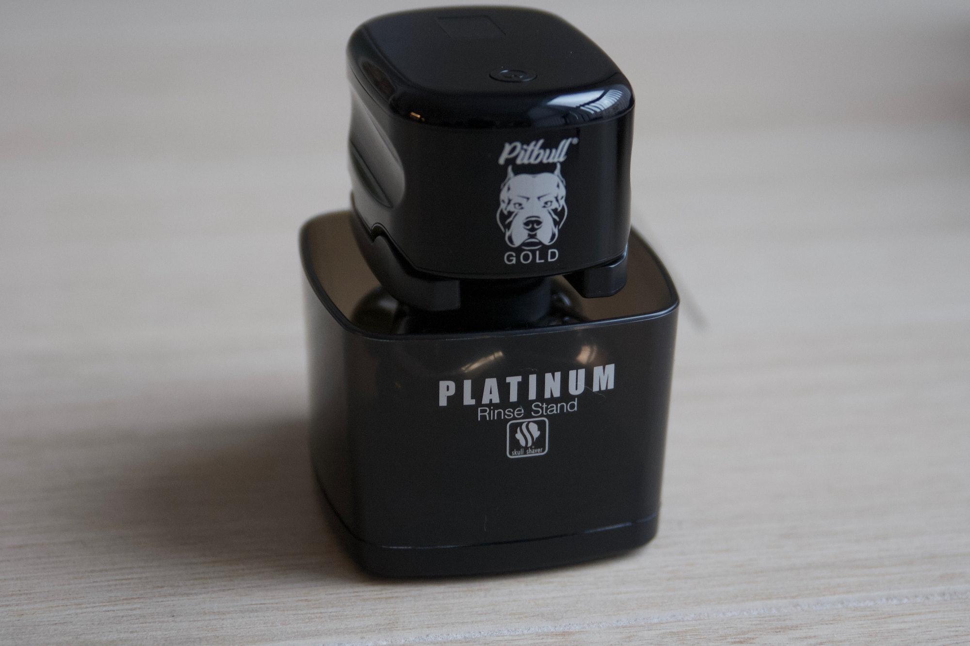 The Platinum rinse stand.