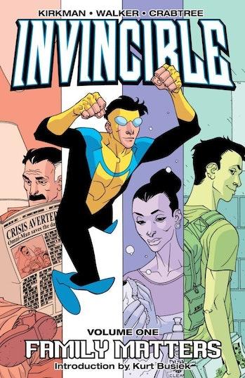 Invincible Cover Image Comics