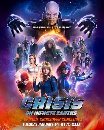 Crisis on Infinite Earths Spectre Poster