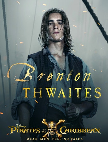 Brenton Thwaites as Henry Turner in 'Pirates of the Caribbean: Dead Men Tell No Tales'