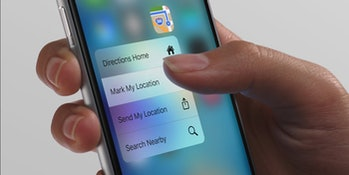 El Samsung Galaxy S7 copiará el 3D Touch del iPhone 6s
