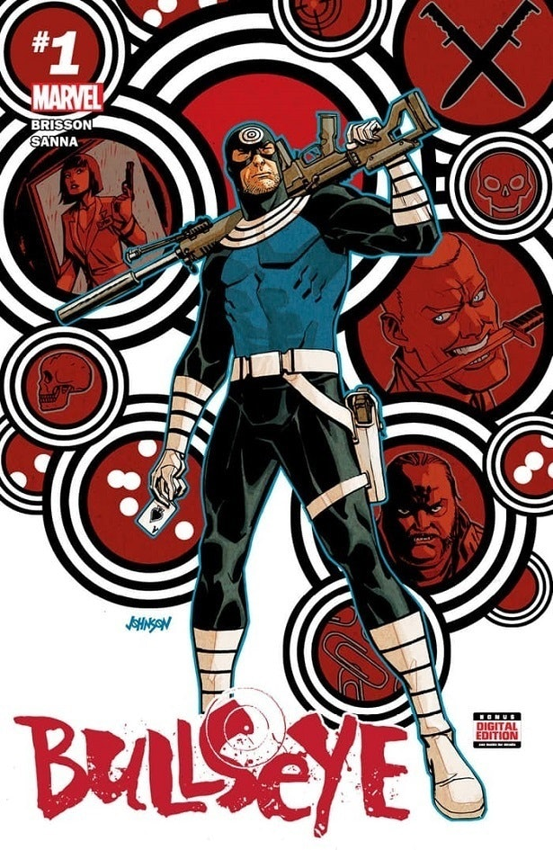 Bullseye #1 from Marvel Comics