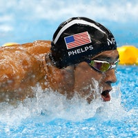Michael Phelps's Gold Medals Weigh 14.6 Lbs and Other Stats