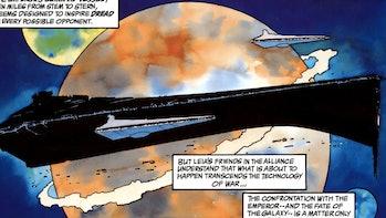 The Emperor had a secret planet in 'Dark Empire,' too.