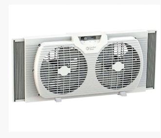 Comfort Zone Oscillating Twin Window Fan