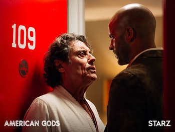 Wednesday in Neil Gaiman's American Gods