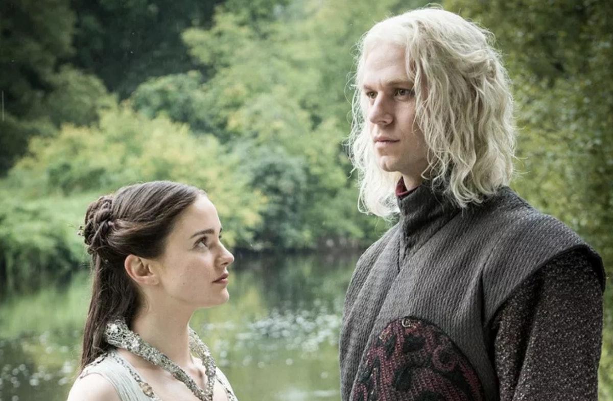 Rhaegar Targaryen with Lyanna Stark