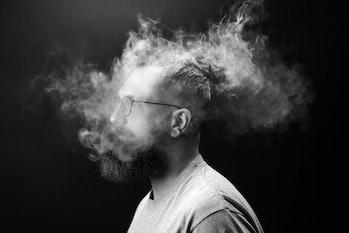 vaping, smoking