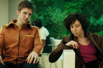 Dan Stevens and Aubrey Plaza on 'Legion'