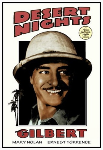 Desert Nights movie poster.