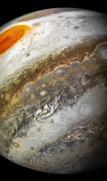 Jupiter's Great Red Spot from Perijove 12