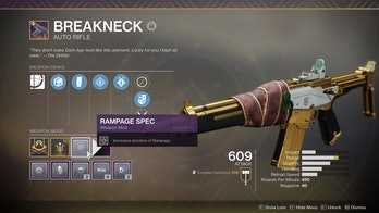 destiny 2 breakneck weapon mod