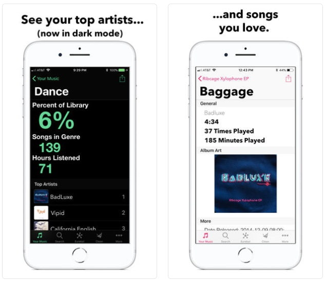 apple music app stats