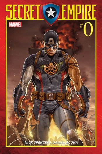 Secret Empire #0 cover for Marvel Comics by