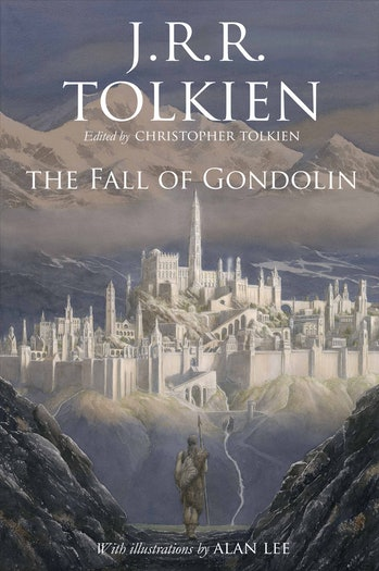Official cover art for 'The Fall of Gondolin'.
