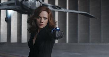Black Widow Captain America Scarlett Johansson