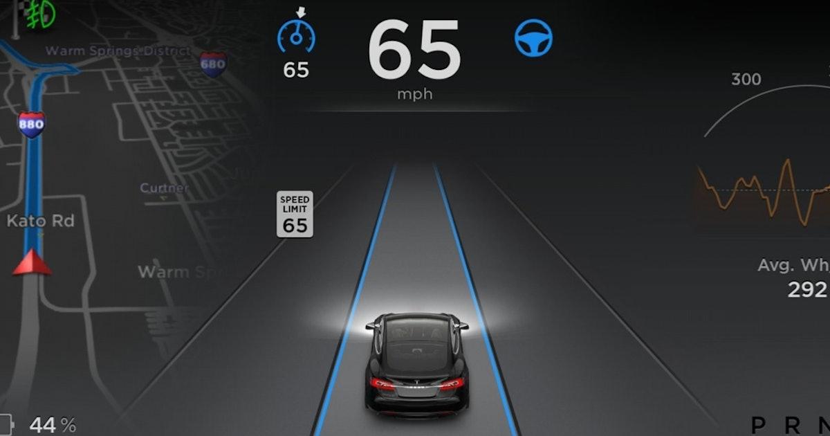 Tesla Releases Autopilot Features Available via Download