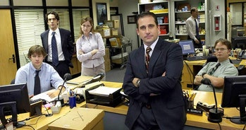 The cast of 'The Office' on NBC, including Steve Carrell