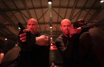 Hobbs and Shaw Dwayne Johnson Jason Statham