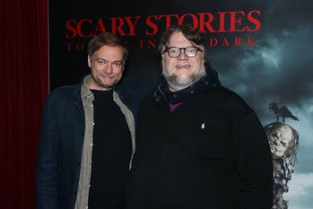 André Øvredal withGuillermo del Toro on Monday in New York.