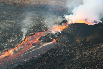 Kilauea Volcano's Fissure 8