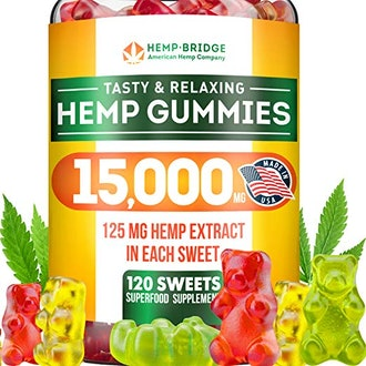 HempBridge Tasty & Relaxing Hemp Gummies