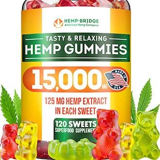 HempBridge Tasty & Relaxing Hemp Gummies