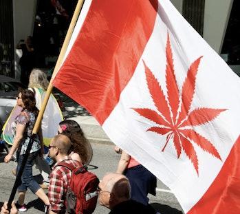 Global Marijuana March 2013 in Vancouver