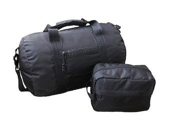 travel kits, duffle bag, travel bags, luggage, Bomber Barrel Duffle Bag
