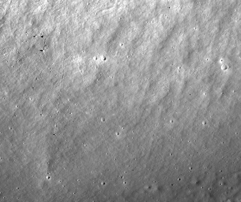 moon boulders Apollo 17 landing site