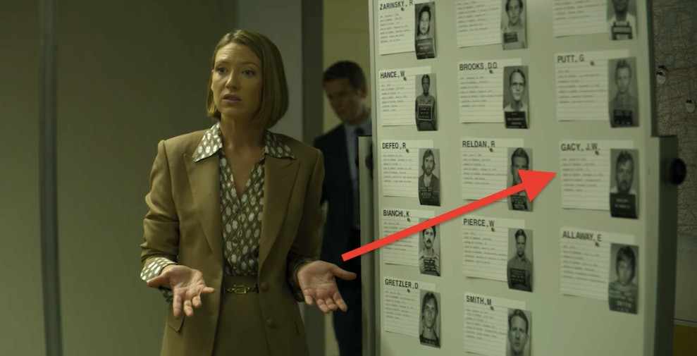 mindhunter season 3 john wayne gacy easter egg