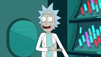 Rick Sanchez totally knows he's on a TV show.