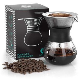 Coffee Gator Paperless Pour Over Coffee Maker