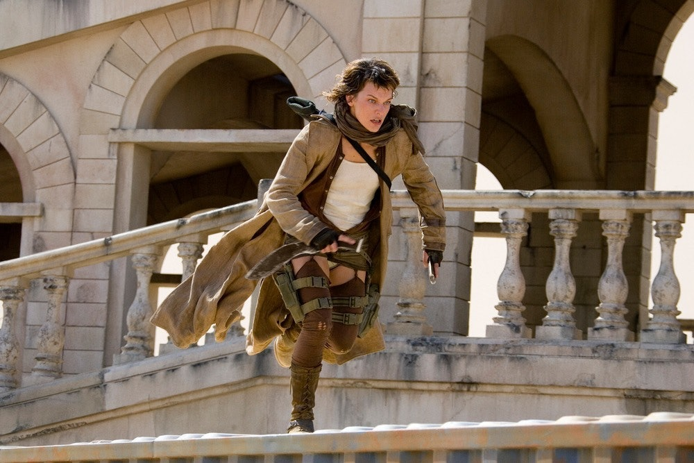 Milla Jovovich in 'Resident Evil: Extinction'