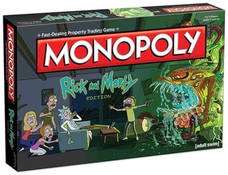 Monopoly Rick and Morty Themed Classic Monopoly Game