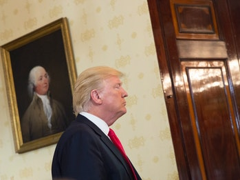 Donald Trump in the White House