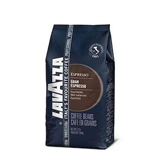 Lavazza Gran Espresso Whole Bean Coffee Blend, Espresso Roast, 2.2-Pound Bag