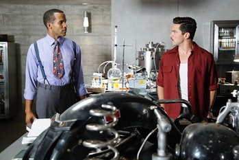 Movie science, Television science, TV, black superhero, black scientist, black actor, science, television
