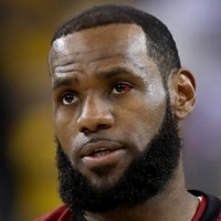 NBA Finals: Why Is LeBron James's Eye Still Red After Game 2?