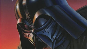 Early Darth Vader concept art