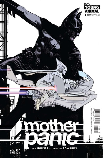 Tommy Lee Edwards Mother Panic Variant Cover by DC Young Animal