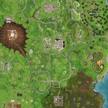 fortnite season 4 week 3 salty springs treasure map