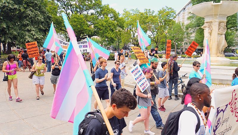 transgender solidarity rally and march