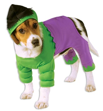 Marvel Universe The Hulk Pet Costume